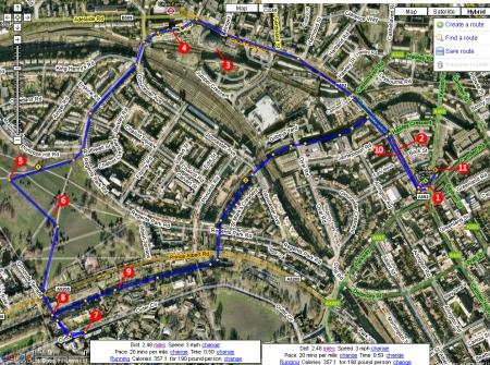 Mapa Camden Town